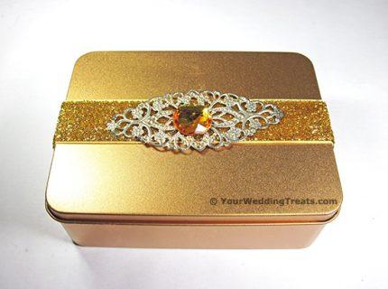 aluminum gift tin
