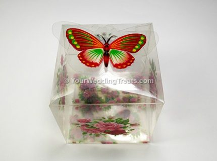 butterfly flower cupcake box