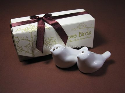 love birds salt pepper shakers