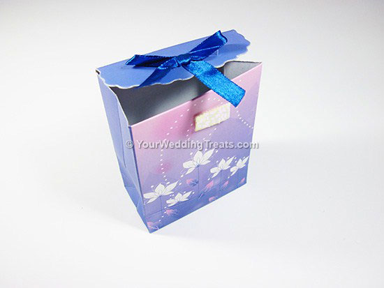 lavender mini paper bag
