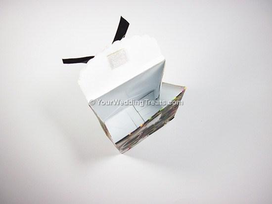 open mini paper bag