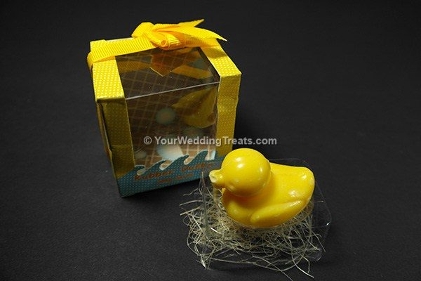 scented rubber ducky gift soap