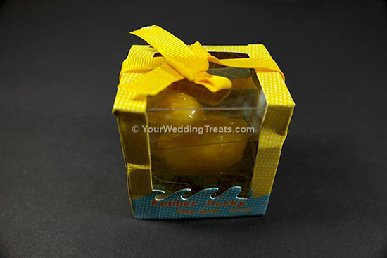 scented rubber duck toy gift soap
