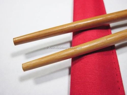 bamboo chopsticks wedding gift set