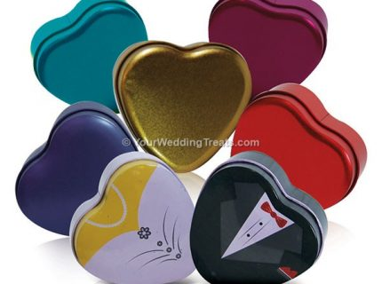 heart shaped containers many designs colors