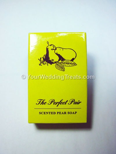 scented pear gift hand soap
