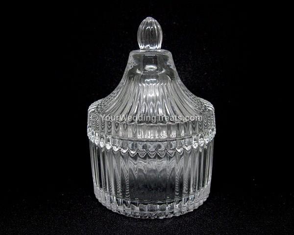 glass potpourri holder